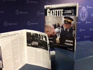 Real Time Crisis Intervention is a not for profit organization with the vision of utilizing relationships and technology to save and improve lives. Thanks to Jean Turner @TheJeanTurner @RCMPONT Social Media Specialist for championing the publication of the article in the #RCMPGazette in April 2014